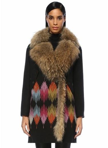 Bazaar Deluxe Palto Siyah
